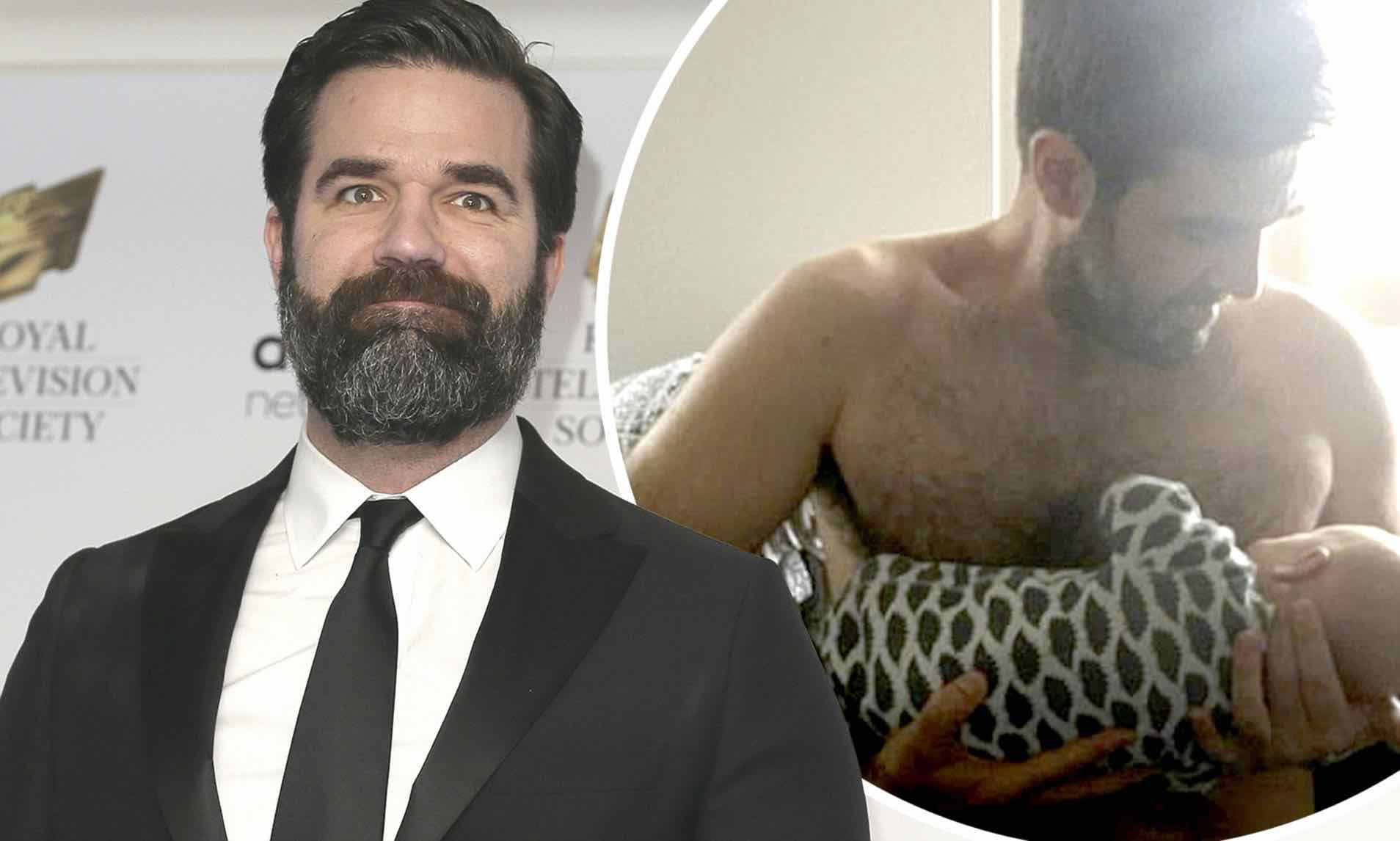 Rob Delaney reveals heartbreak of tragic son's death, Report