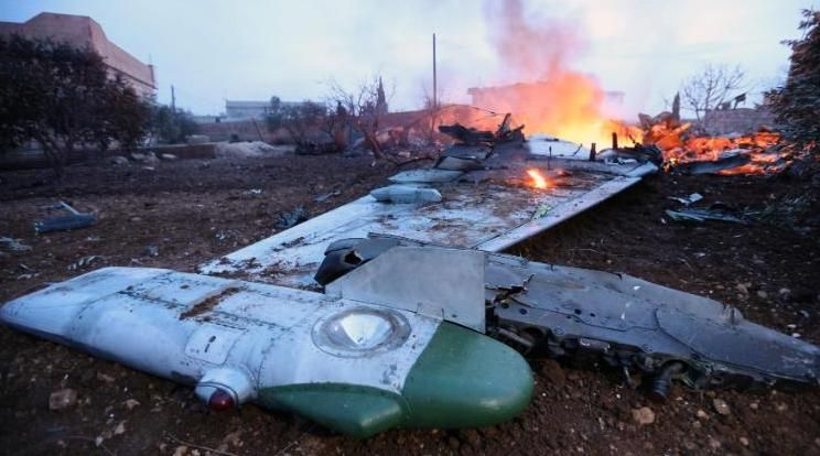Russian Plane Shot Down By Syrian Forces, Report