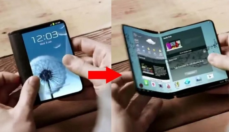 Samsung Set To Unveil A Foldable Smartphone, Report