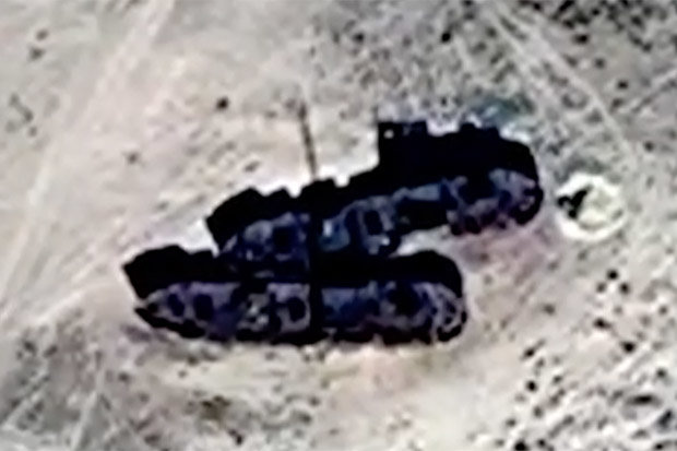 Ships found in middle of desert, captured on satellite