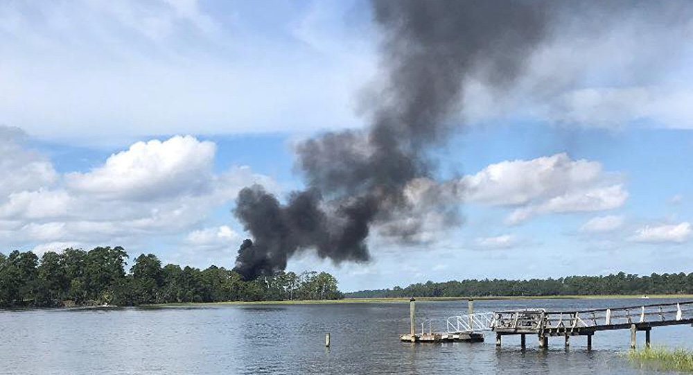 South Carolina jet crash: Marine pilot in stable condition, Report