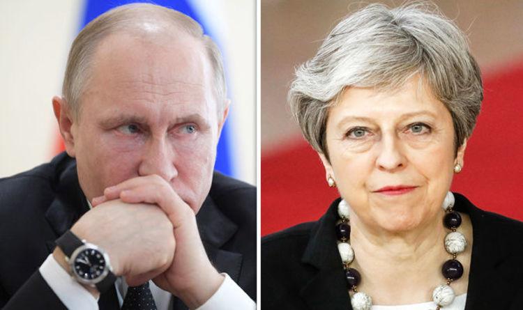 Theresa May 'orders cyberwar' on Russia's spy, Report