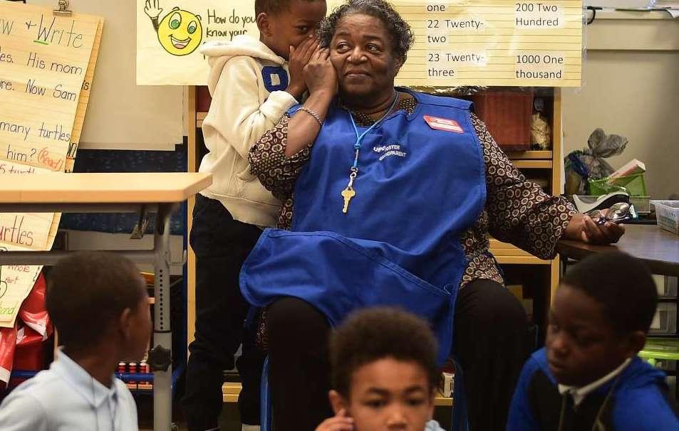 Classroom grandparents D.C. give students mentors, Report