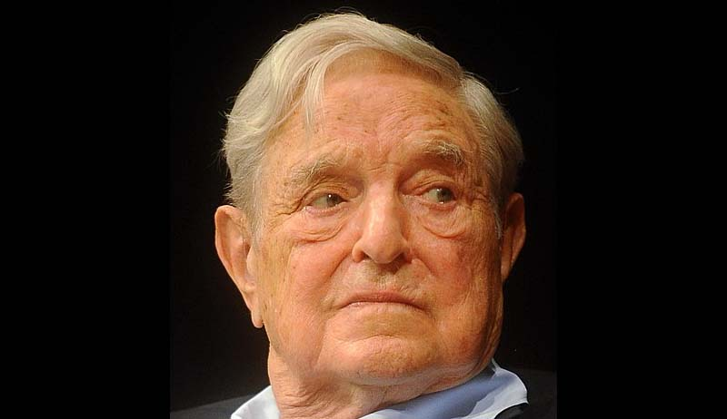 George Soros, Bomb squad blow up suspect package (Report)
