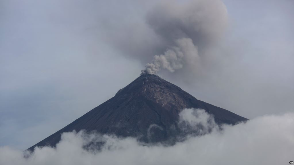 Guatemala volcano new eruption: Fire Again Spews Ash, Lava
