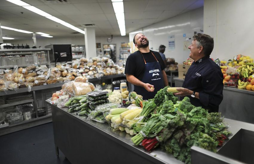 Jean-Francois Archambault Feeding the homeless (food program)