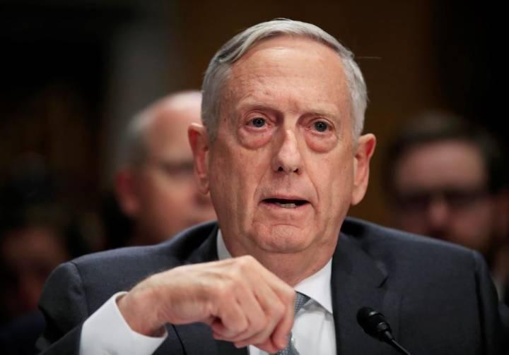 Jim Mattis drops China as tensions continue, Report