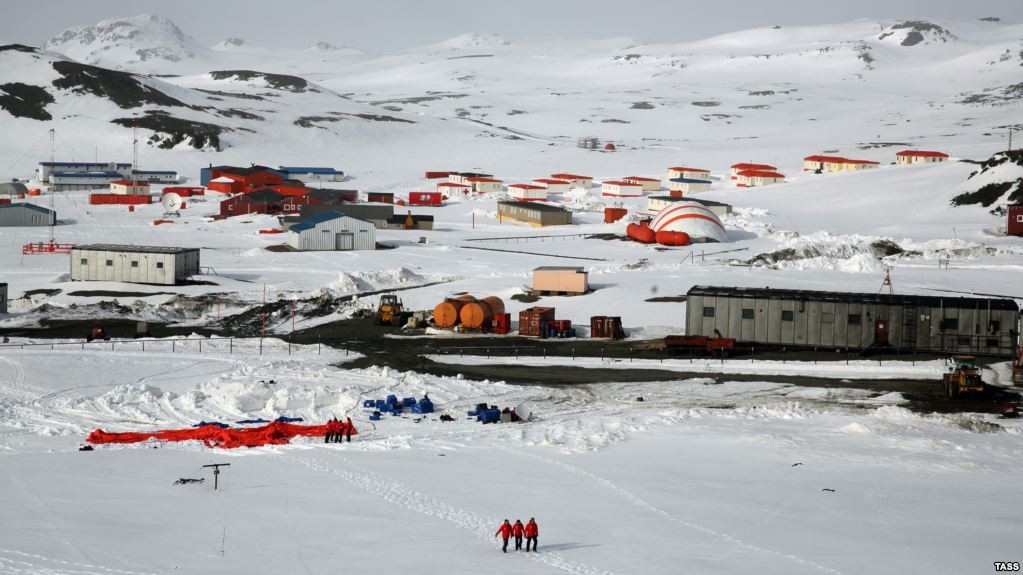 Man Stabs Colleague at Antarctica Russian science station