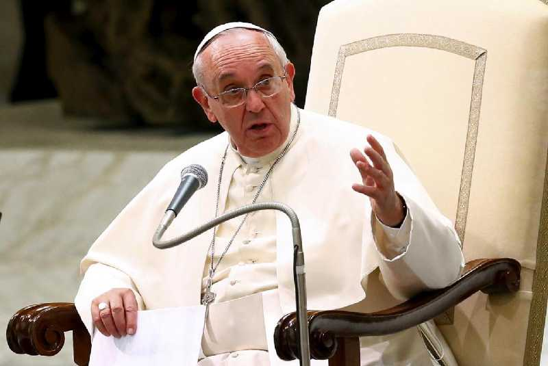 Pope Francis blames devil for Church divisions and scandals
