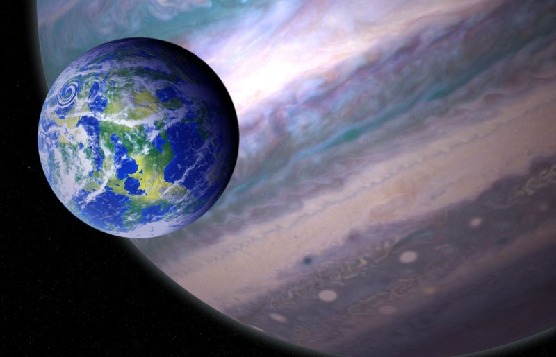 Possible exomoon discovery, says new research