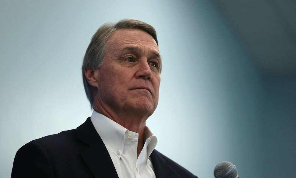 Sen. David Perdue sued for snatching his phone, Report