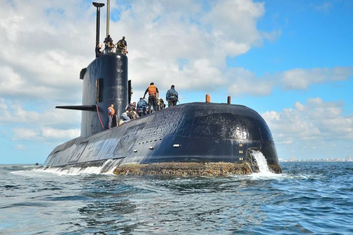 Argentina submarine imploded in Atlantic with 44 crew (Reports)