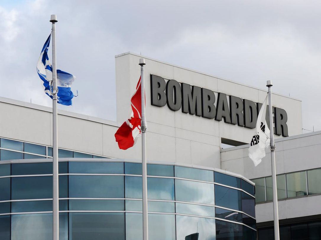 Bombardier exec plan, plunged to its worst week in at least 30 years