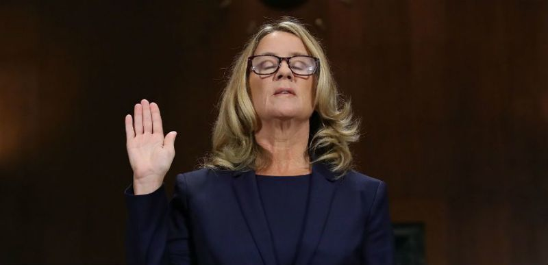 """Christine Blasey Ford Thanks Supporters: """"Words are not adequate to thank all of you who supported me"""""""