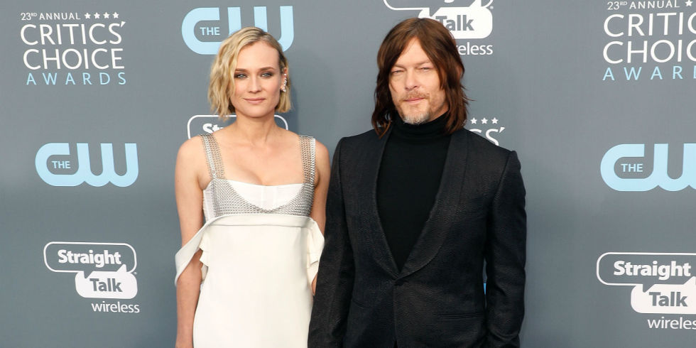 Diane Kruger, Norman Reedus Welcomed Their First Child Together