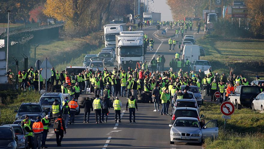 France fuel tax protests Ends With One Dead and 47 Injured