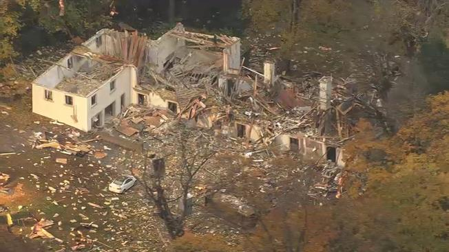 Massive explosion in Pennsylvania house: No injuries were reported