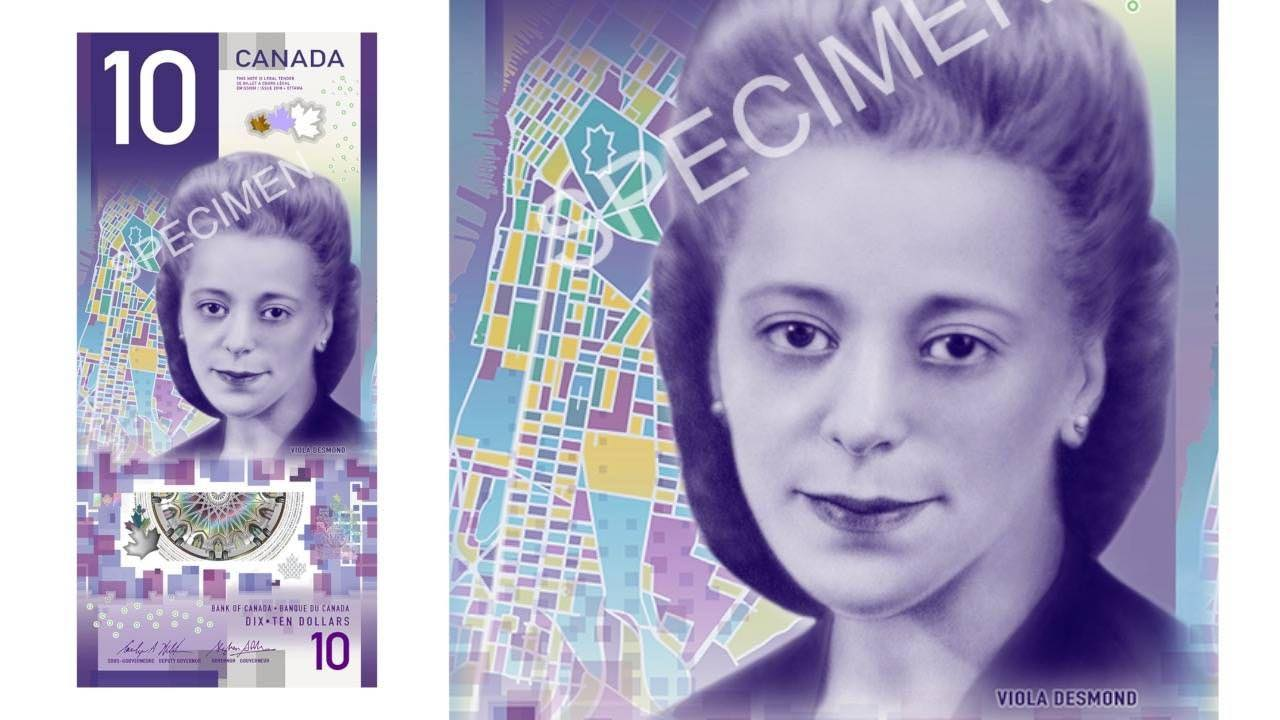 Viola Desmond banknote tells valuable story (Reports)