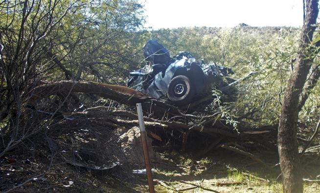 Woman in Arizona rescued 6 days after car crash