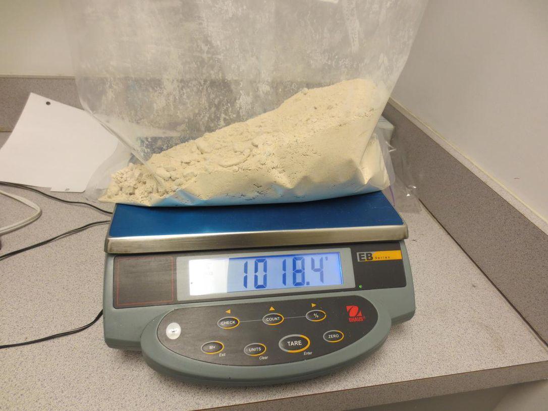 Heroin smuggler at Calgary Airport (Reports)