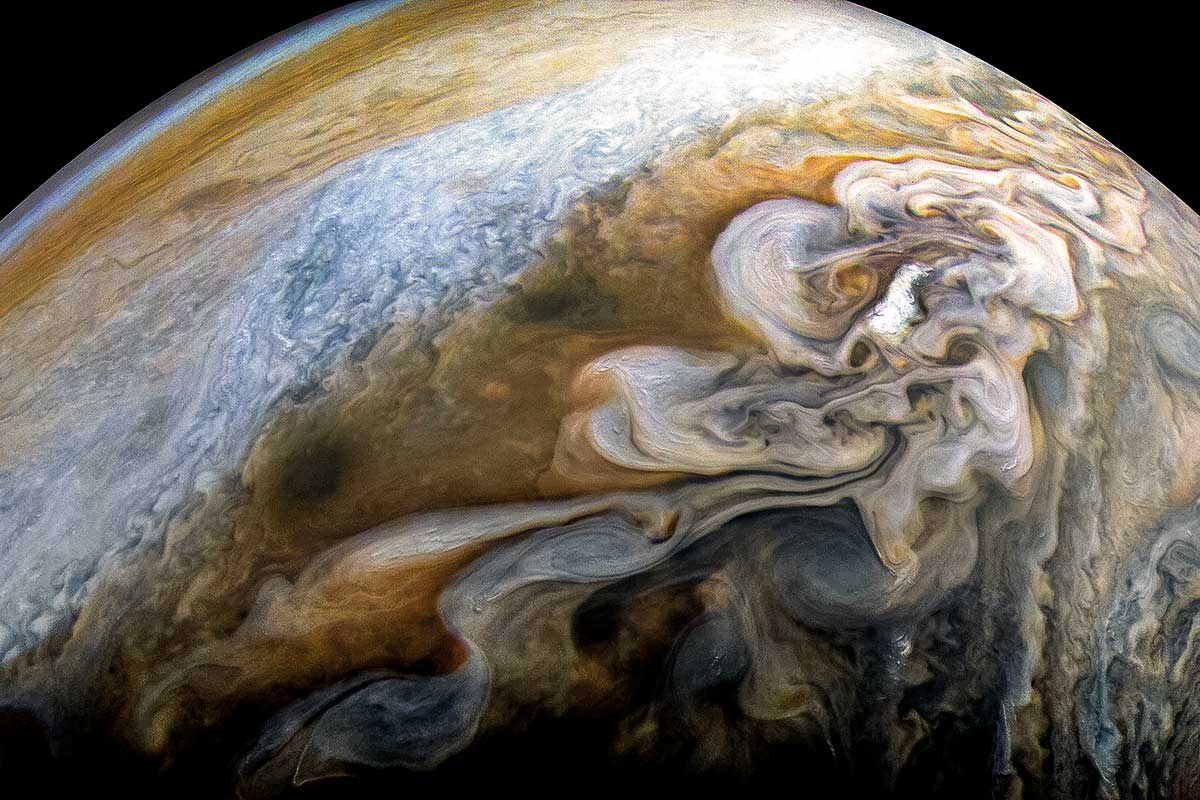 Jupiter, Juno storms: Stunning footage captured (Photo)