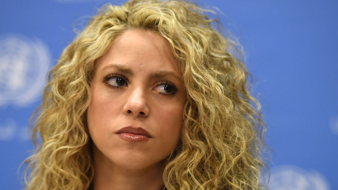 Shakira charged with tax evasion in Spain (Reports)